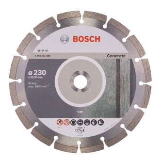Imagem - Disc Dia Prof. For Concrete 230X22,23Mm cód: 00741952